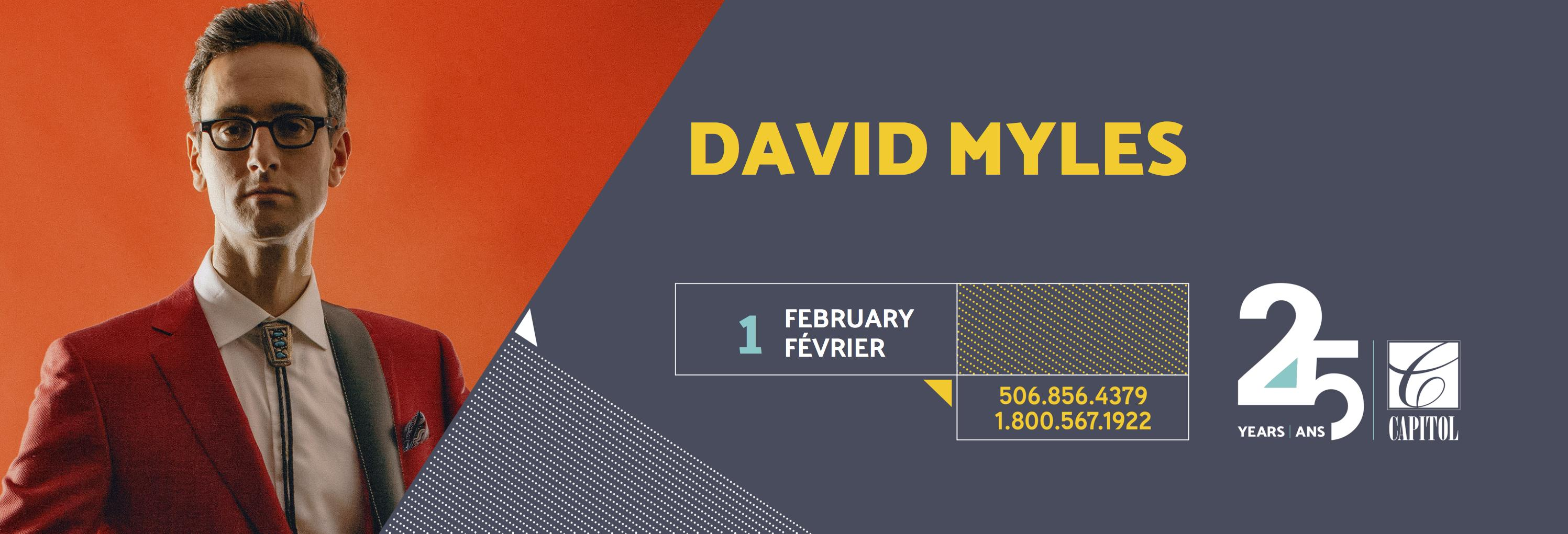 Header Site web David Myles
