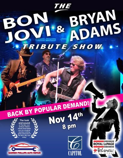 The Bon Jovi & Bryan Adams Tribute Show Image 1