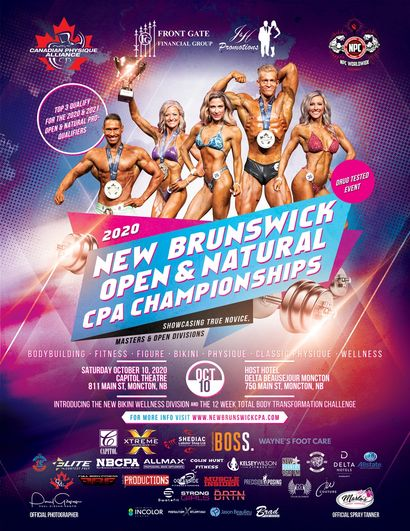 2020 New Brunswick Open & Natural CPA Championships Image 1