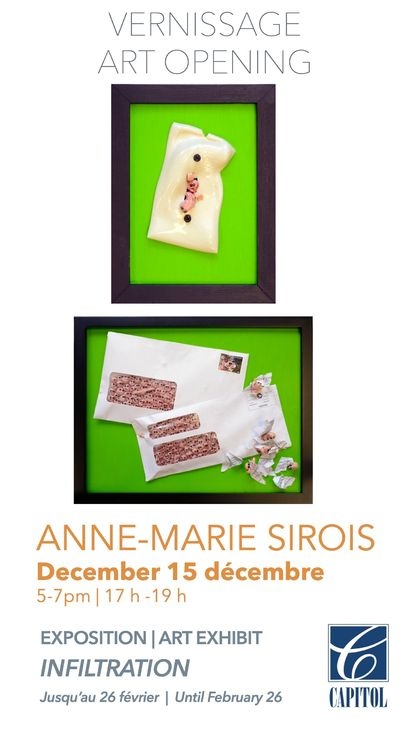 VERNISSAGE - Anne-Marie Sirois Image 1