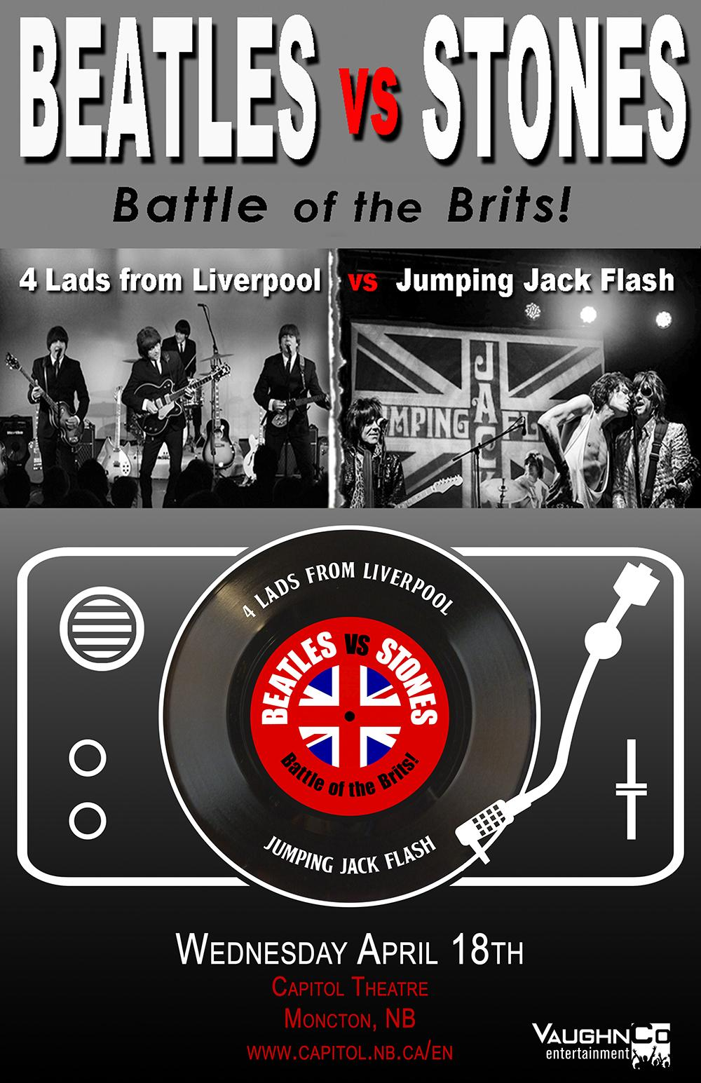 The Ultimate Beatles vs Stones Tribute Show Image 1